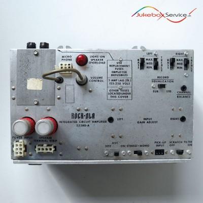 ROCK-OLA AMPLIFIER 52280-A