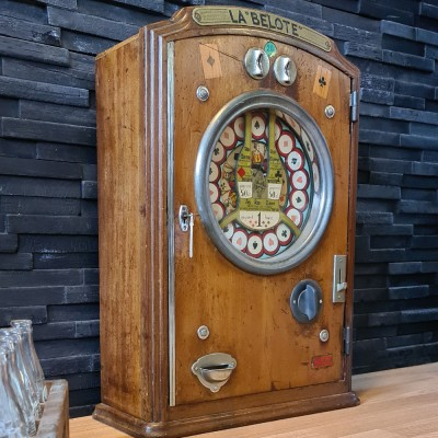 Geldspielautomat La Belote 1925